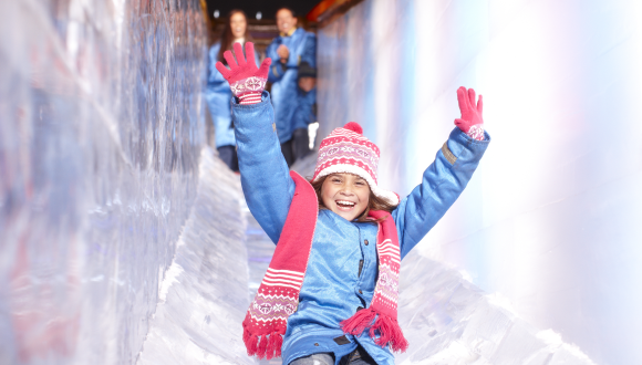 Gaylord Hotels ICE Slide