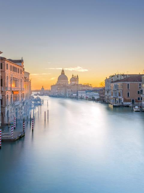 Grand Canal Venice from Accademia Bridge
