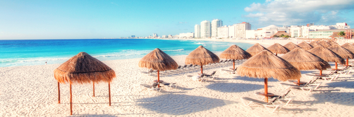 Beach Cancun Mexico GettyImages-141949103