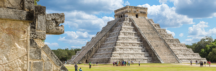 Chichen Itza Yucatan Mexico       GettyImages-603212009