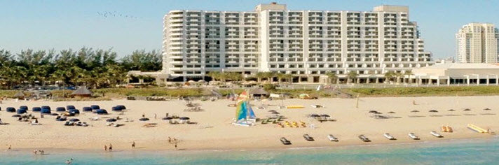 Fort Lauderdale Marriott Harbor Beach Resort and Spa Vacation Packages