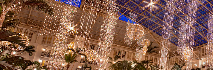 Gaylord Christmas Packages with Vacations by Marriott