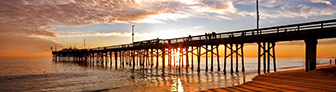 Newport Beach Pier at Sunset  MDAM ID: 1334375