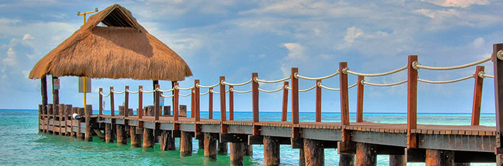 Pier Cozumel Mexico     Getty Image #126307007