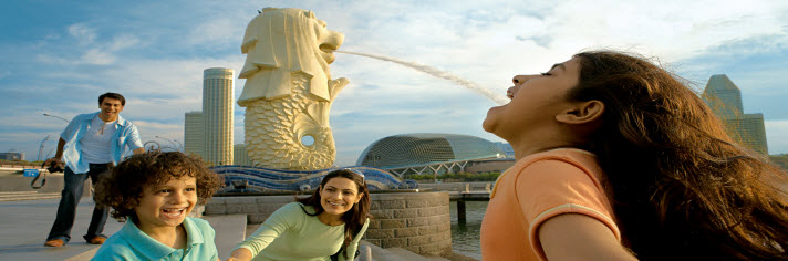 Singapore Vacation Packages with Vacations by Marriott