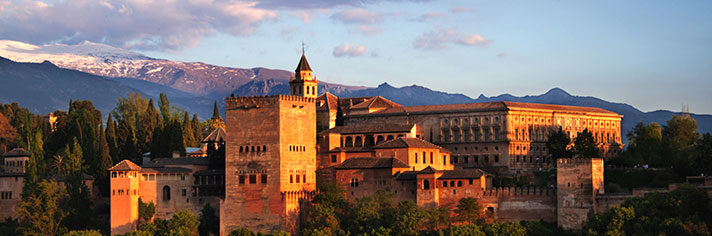 The Alhambra Granada Spain       GettyImages-172221440