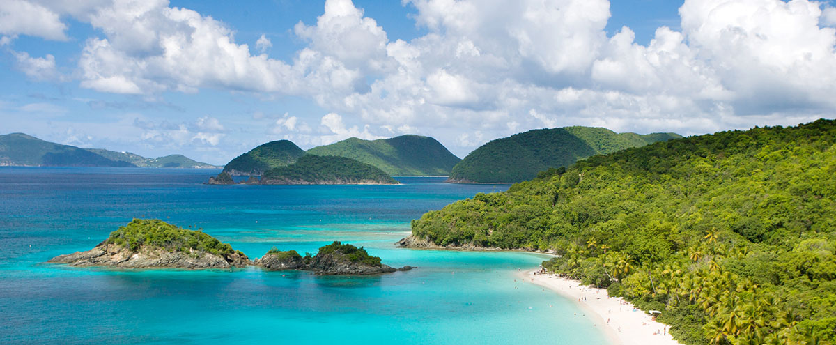 Trunk Bay St. John US Virgin Islands  GettyImages-132280669