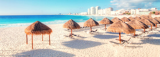 Beach Cancun Mexico