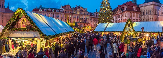 Christmas Market Prague Old Town Square