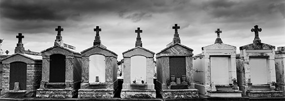 New Orleans Cemetery Crypts