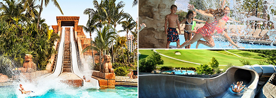 Resort and Hotel Waterparks
